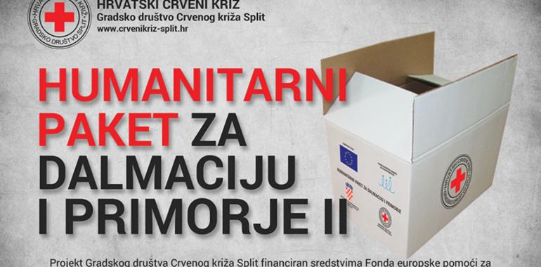 Humanitarni paket za Dalmaciju i Primorje II – obavijest o početku projekta